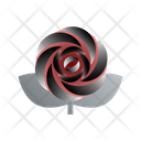 Valentines Rose Roseblossom Flower Icon