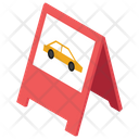 Valet Parking Parking Barrier Road Barrier Icon