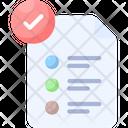 Validation Assessment Checklist Icon