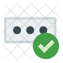 Validation Password Pincode Icon