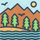 Valley Canyon Basin Icon
