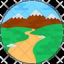 Scenery Nature Valley Icon