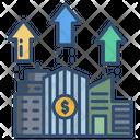 Valuation Dollar Analysis Icon