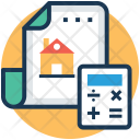 Real Estate Calculator Icon
