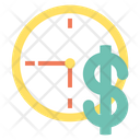 Value Time Is Money Importance Of Time Icon