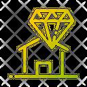 Value Property Value Diamond Value Of Property Icon