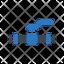 Value Pipeline Pipe Icon