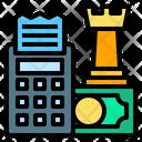Value Receipt Chess Icon