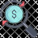 Value Analysis Value Analytics Dollar Icon