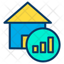 Value Chart Of Home Value Chart Of House Analytics For Home Value Icon