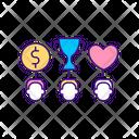Value Diversity Icon
