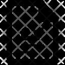 Contract Cv Resume Icon