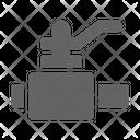 Valve Gas Pipe Icon
