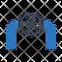 Valve Pipeline Control Icon