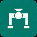 Valve Pipe Plumbing Icon
