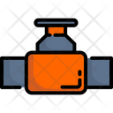 Valve Faucet Construction Icon