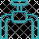 Valve Water Flow Icon