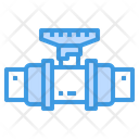 Valve Pipes Water Icon