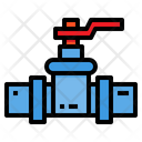 Valve Water Pipes Icon
