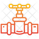 Valve Pipes Industry Icon