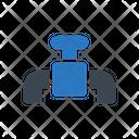 Valve Control Pipeline Icon