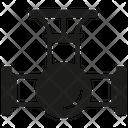 Gauge Valve Pressure Icon