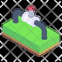 Pipeline Pipe Wheel Valve Icon