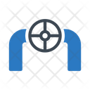 Valve Pipeline Gas Icon