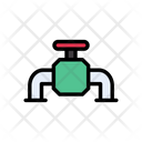 Valve Pipe Pipeline Icon