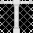 Valve Tee Line Icon