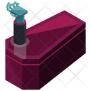 Vampire Rising Coffin Icon