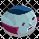 Vampire Head Horror Icon