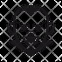 Halloween Vampire Monster Icon