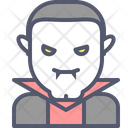Vampire Dracula Halloween Icon