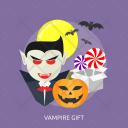 Vampire Gift Moon Icon