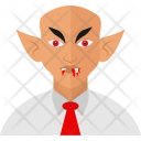 Dracula Halloween Vampire Icon