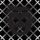 Halloween Vampire Scary Icon