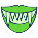 Halloween Horror Mouth Icon