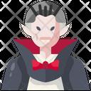 Vampire Dracula Avatar Icon