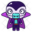 Vampire Halloween Costume Icon