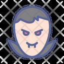 Vampire Halloween Horror Icon