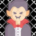 Vampire Spooky Dracula Icon