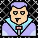 Vampire Dracula Terror Icon