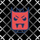 Vampire Skull Halloween Icon