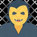 Vampire Face Dracula Icon