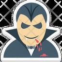 Vampire Zombie Dracula Icon