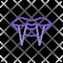Vampire Teeth Icon