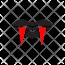 Vampire Devil Halloween Icon
