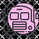 Van School Bus Icon