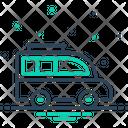 Van Transport Carriage Icon